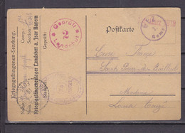 ALLEMAGNE CARTE PRISONNIERS DE GUERRE - Covers & Documents