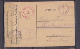 ALLEMAGNE CARTE PRISONNIERS DE GUERRE LICHTENAU - Covers & Documents