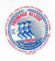 ETIQUETTE DE FROMAGE   NEUVE  10 CM ALLEGE FRECH ALSACE VOSGES HUTTENHEIM - Cheese