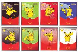 Pochettes Emballages Pokémon 25 Ans (Jeux Imprimés à L'intérieur) -  Faciale Pikachu - Vides & Sans Suppléments (x8) - Pokemon