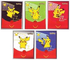 Pochettes Emballages Pokémon 25 Ans (Jeux Imprimés à L'intérieur) -  Faciale Pikachu - Vides & Sans Suppléments (x5) - Pokemon