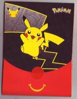 Pochette Emballage Pokémon 25 Ans (Jeu Imprimé à L'intérieur) -  Faciale Pikachu (Noire) - Vide & Sans Suppléments - Pokemon