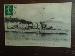 "Marine Nationale """" Cavalier """" Contre Torpilleur - Warships"