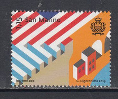 2019 San Marino Together Complete Set Of 1 MNH @ BELOW FACE VALUE - Unused Stamps