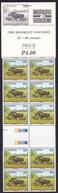 Botswana, 1992, Warthog, Kolobe, MNH Booklet Of 20 Stamps - Other