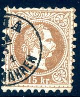 Mi. 39 I Wasserzeichen B Ganzer Buchstabe Gestempelt - Used Stamps