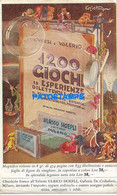 164006 ITALY PUBLICITY 1200 GIOCHI ULRICO HOEPLI EDITORE MILANO POSTAL POSTCARD - Unclassified