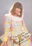 Chantal Goya. Carte  RCA - Entertainers