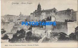 164022 ITALY GRAVINA IN PUGLIA BARI RIONE PIAGGIO POSTAL POSTCARD - Non Classificati
