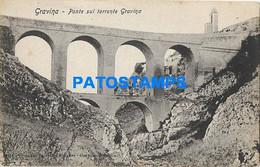 164024 ITALY GRAVINA IN PUGLIA BARI THE BRIDGE POSTAL POSTCARD - Non Classificati