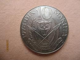 Congo: 10 K (makuta) 1978 - Congo (Democratic Republic 1964-70)