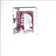 Les Visages De La Vème République Adhésif N° 226 Oblitéré 2008 - Sellos Autoadhesivos