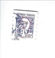 Les Visages De La Vème République Adhésif N° 227 Oblitéré 2008 - Sellos Autoadhesivos