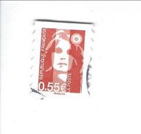 Les Visages De La Vème République Adhésif N° 233 Oblitéré 2008 - Sellos Autoadhesivos