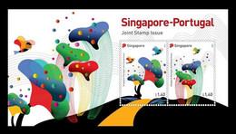 Singapore 2021 Mih. 2713/14 (Bl.268) Forests Of Madeira & Singapore Botanic Gardens (joint Singapore-Portugal) MNH ** - Singapore (1959-...)