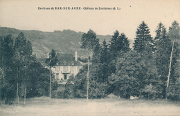 Bar Sur Aube (10 - Aube) Château De Fontaines - édit. GL - Bar-sur-Aube