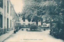 Nogent Sur Seine (10 - Aube) L'hôpital - Phot. Desaix N° 15 Bleutée Circulée 1915 - Other Municipalities