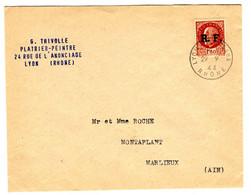 48568 - Libération De LYON - Guerra Del 1939-45