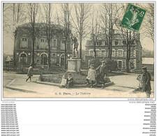 61 FLERS. Le Théâtre 1908 Belle Animation - Flers