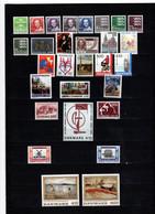 1988 Denmark. Full Years. MNH ** - Volledig Jaar