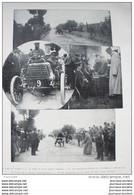 1899 TOUR DE FRANCE EN AUTOMOBILE - JOUTES LYONNAISES - SALON DE L'AUTO - AVIRON - RACES BRETONNES. - 1850 - 1899