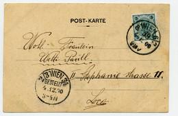 Mi. 72 Postkarte WIEN - WIEN - Covers & Documents