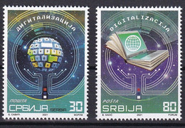 SERBIA 2021,DIGITALISATION ,MNH - Informatique