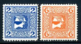 Mi. 157, 158 Kreidepapier (x) Gezähnt Falz - Unused Stamps