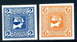 Mi. 157, 158 Kreidepapier (x) Falz - Unused Stamps
