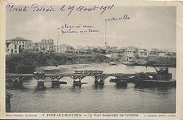 X122460 AFRIQUE ALGERIE ALGER POINTE PESCADE PORT AUX MOUCHES LE WARF DESSERVANT LES CARRIERES - Algeri