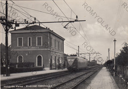 CARTOLINA  FELEGARA,PARMA,EMILIA ROMAGNA,STAZIONE FERROVIARIA,STORIA,MEMORIA,CULTURA,RELIGIONE,VIAGGIATA 1958 - Parma