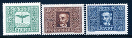 Mi. 426, 431, 432 Falz - Unused Stamps