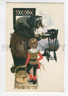 3091663 Old WITCH & Young Boy Old Russian Colorful PC - Vertellingen, Fabels & Legenden