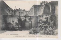 CPA-70-Haute Saône- LUXEUIL-les-BAINS- Entrée Intérieure Du Séminaire- - Luxeuil Les Bains