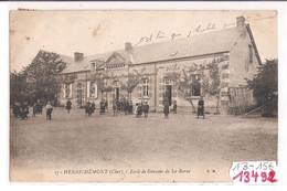 13482  FRD41  CPA HENRICHEMONT ECOLE DE GARCONS  DE  LA BORNE 1907 TBE - Otros Municipios