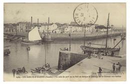1464 - LES SABLES D'OLONNE - Le Coin Du Port Où Se Fait En Barque Le Passage De La Chaume Aux Sables - Sables D'Olonne