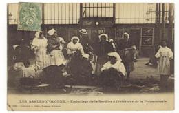 1680 - LES SABLES D'OLONNE - Emballage De La Sardine à L'intérieur De La Poissonnerie - Sables D'Olonne