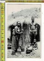 57871 - KATANGA -CONGO BELGE -  Homme Et Femme - Africa