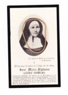 Faire-part De Décès De Soeur Marie-Alphonse ( Léonie CORMEAU ) Grand-Rechain 1875 / Champion 1902, Nun, Religieuse (cor) - Avvisi Di Necrologio