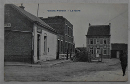 CPA 1908 Villers-Perwin, Les Bons Villers - La Gare - Les Bons Villers