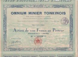 VIETNAM. OMNIUM MINIER TONKINOIS.     DECO - Other