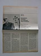 DIKSMUIDE-KAASKERKE: 75e IJZERBEDEVAART (Tijdschriftartikel 1962) - Documenti Storici