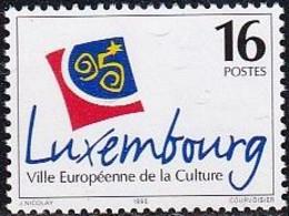 L-Luxemburg 1995 - Kulturhauptstadt Europas (III) (B.2788) - Nuevos