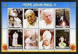 MORDOVIA - 2003 - Pope John Paul II #2 - Perf 8v Sheet - Mint Never Hinged - Private Issue - Non Classés