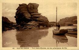 ILE DE GROIX PORT SAINT NICOLAS - Groix