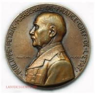 Médaille Philippe Pétain 1941 Par Turin (Famille, Patrie) Lartdesgents.fr - Royal / Of Nobility