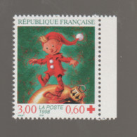 FRANCE / 1998 / Y&T N° 3199a ** : Croix-Rouge (Lutin) De Carnet X 1 BdC D - Unused Stamps
