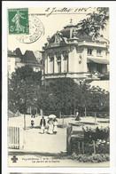 Puy De Dome , Chatel -guyon ,le Jardin Et Le Casino - Châtel-Guyon