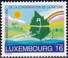 L-Luxemburg 1995 - Europäisches Naturschutzjahre (B.2793) - Nuevos