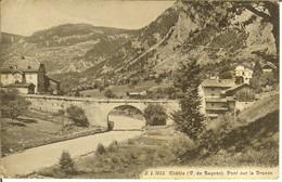 """CP De CHÂBLE """" V. De Bagne Pont Sur La Dranse """" Cachets Konstanz Geprüft Censure LE CHÂBLE Prisonniers De Guerre - VS Valais"""